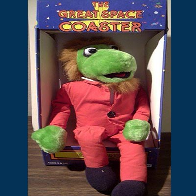 "Gary Gnu 12"" stuffed doll in original box"