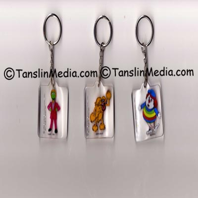 Great Space Coaster Key Chains