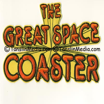 The  Great Space Coaster Embroidered patch